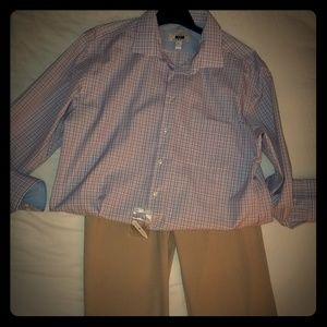NWOT Joseph Abboud men's dress shirt.